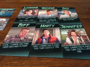 Back to the Future Role Cards