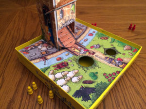 Knuckling Knights Game Board