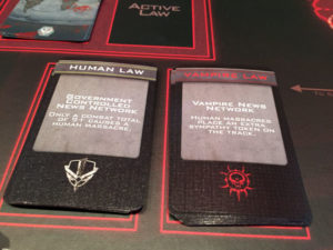 V-Wars Law Cards