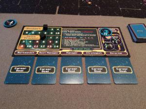 Bureaunauts Player Board