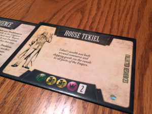 Mistborn House War House Card