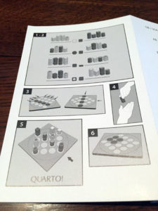 Quarto How to Play