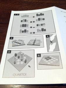 Quarto How to Play