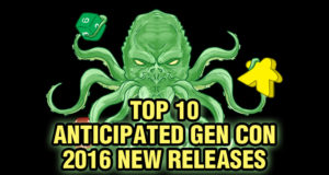 Top 10 Gen Con New Releases