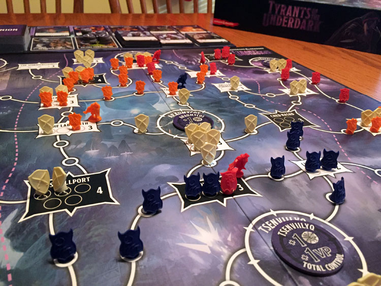 Tyrants of the Underdark Game Experience