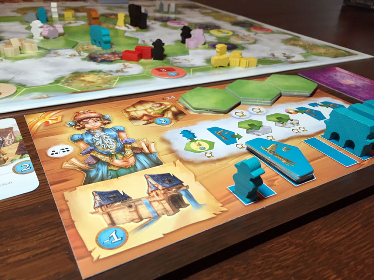 Via nebula review board game quest via nebula player mat urtaz Images