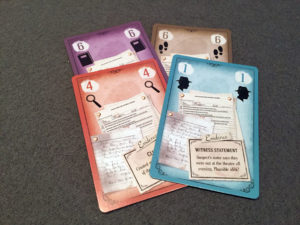 Beyond Baker Street Clue Cards