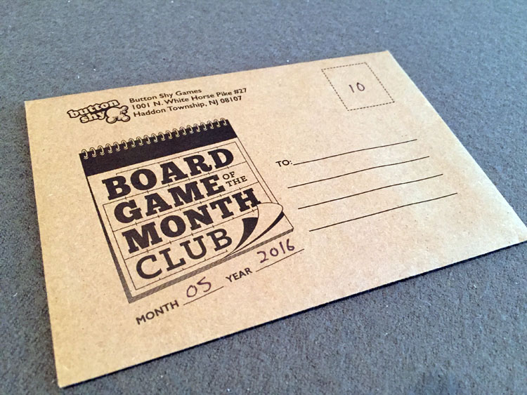 Board Game of the Month Club