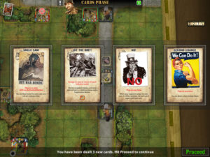 Heroes of Normandie iPad Cards