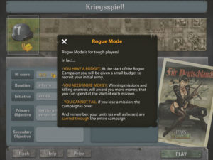 Heroes of Normandie iPad Rogue Like