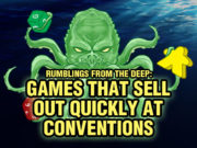 Convention Game Sell Outs