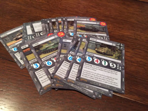 Tanks Panther vs Sherman Tank Cards