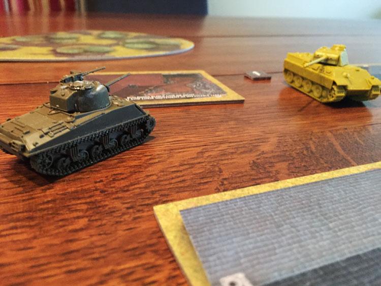 Tanks Panther vs Sherman Game Experience
