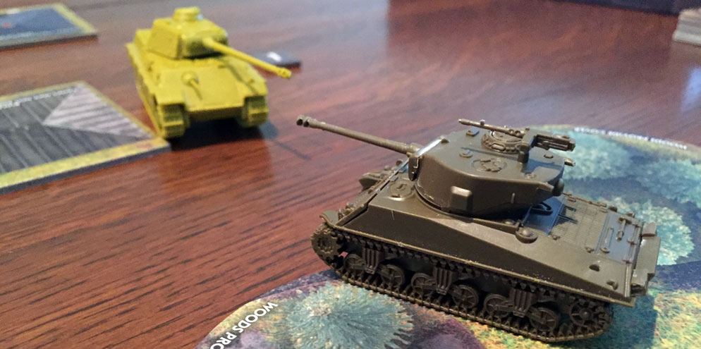 Tanks Panther vs Sherman