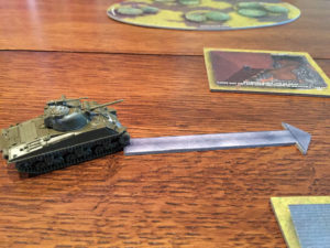 Tanks Panther vs Sherman Movement