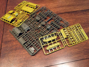 Tanks Panther vs Sherman Sprues