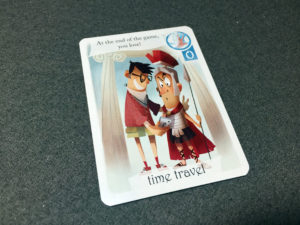 3 Wishes Time Travel Card