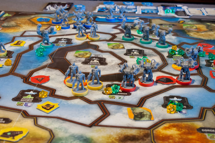 Cry Havoc Game Board