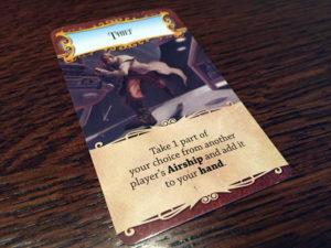 Dastardly Dirigibles Action Card
