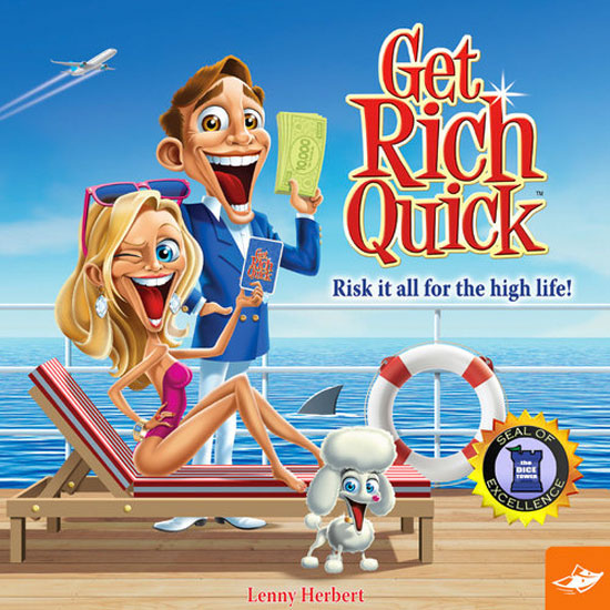 Get Rich Quick Review | Board Game Quest