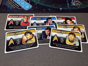 Star Trek Panic Characters