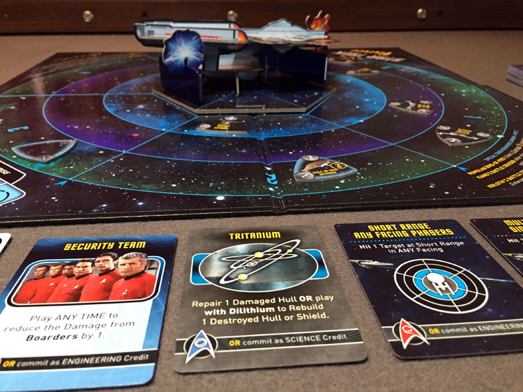 Star Trek Panic Game Experience