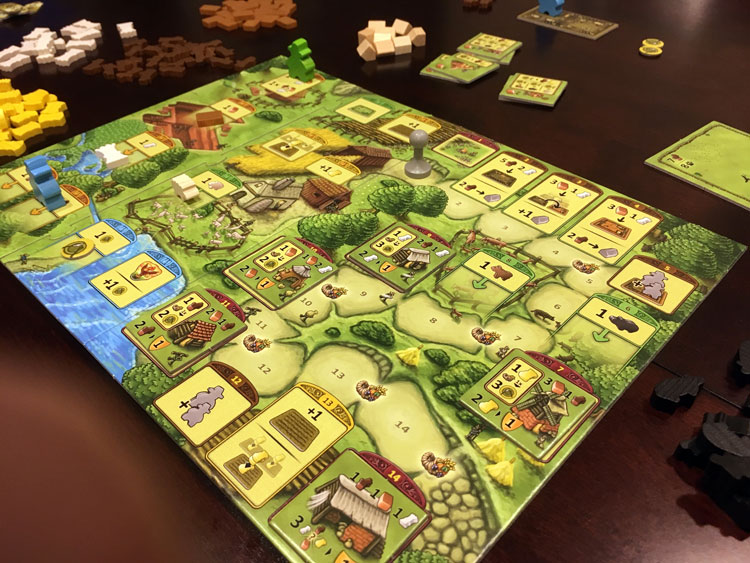 Agricola: Family Edition Game Experience