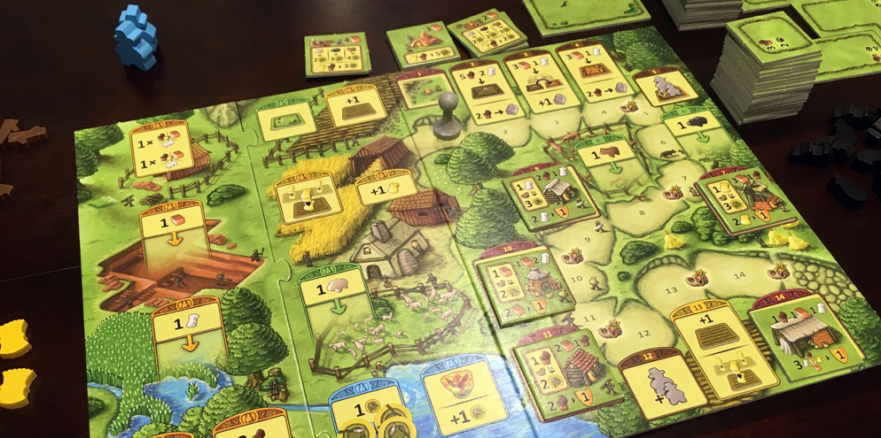 Agricola Family Edition Review Board Game Quest
