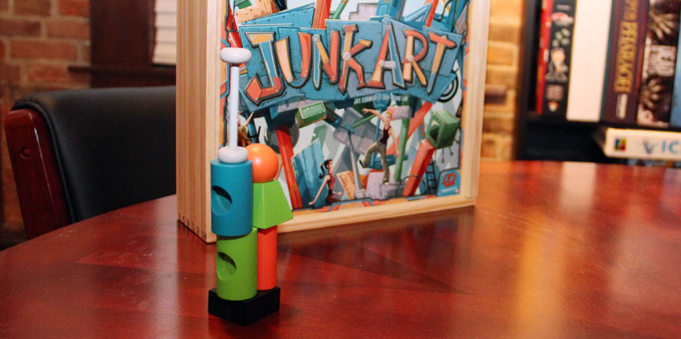Junk Art Review Board Game Quest