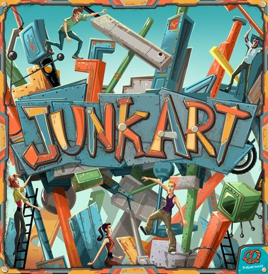 Junk Art Review | Board Game Quest image