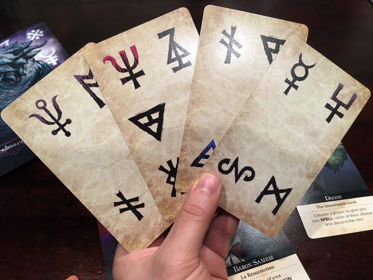 Necronomicards Game Experience