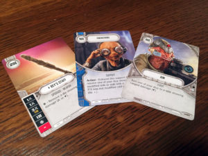 Star Wars: Destiny Cards