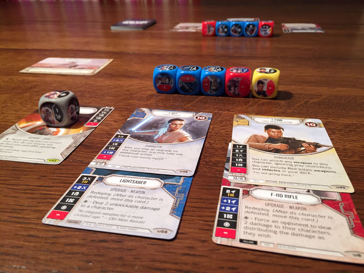 Star Wars: Destiny Game Experience