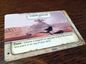 Star Wars: Destiny Objective Card