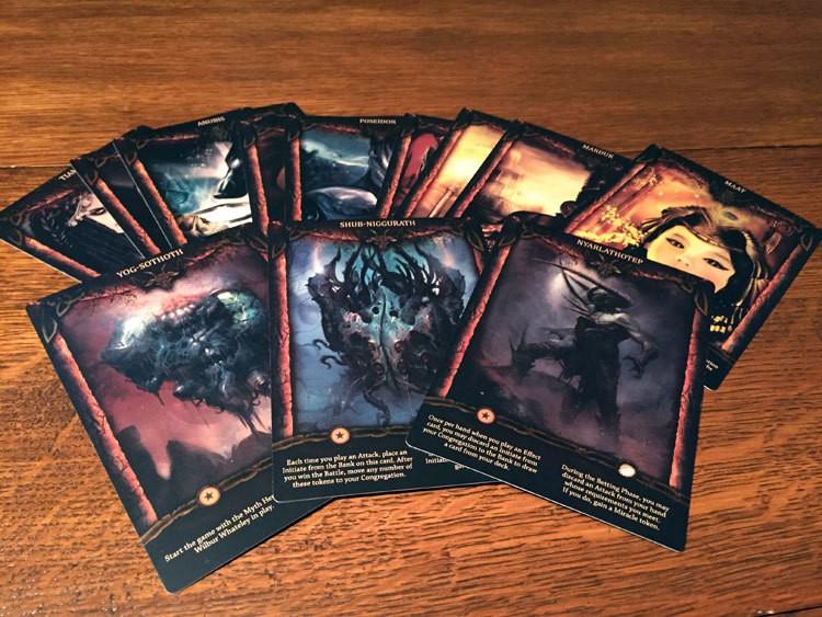 Theomachy God Cards