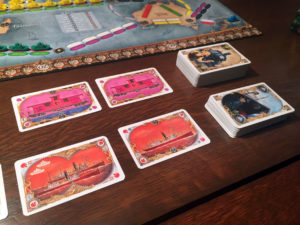 Ticket to Ride: Rails & Sails Travel Cards