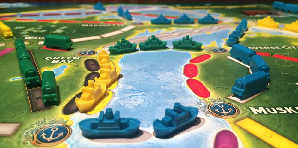 Ticket to Ride: Rails & Sails Review