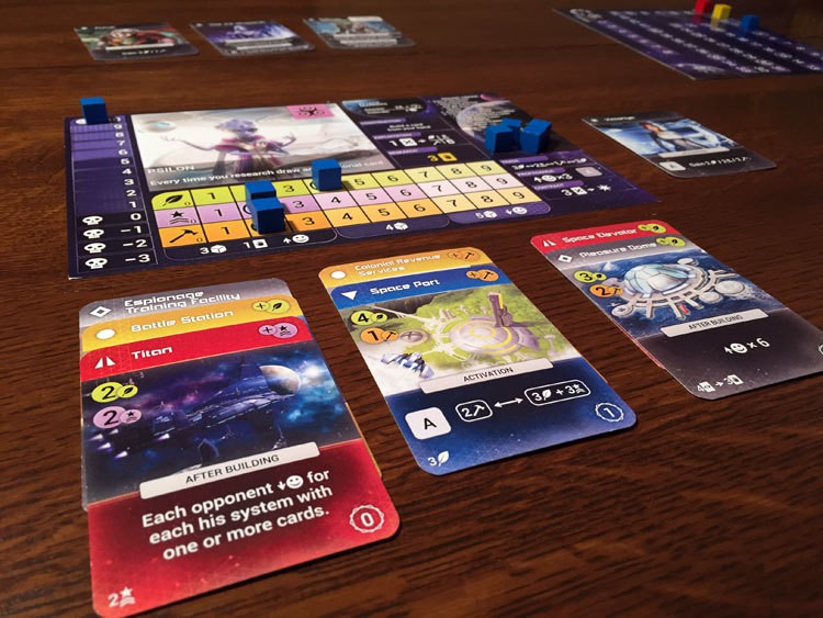 Master of Orion: The Board Game Game Experience