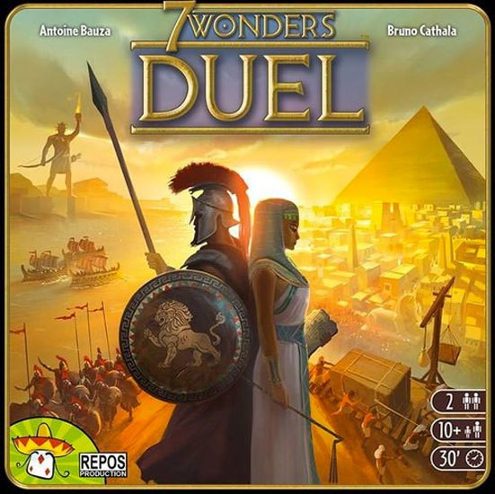 7 Wonders: Duel Review | Board Game Quest image