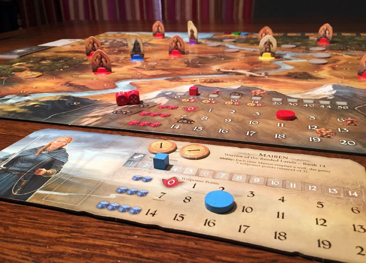 Legends of Andor Game Experience