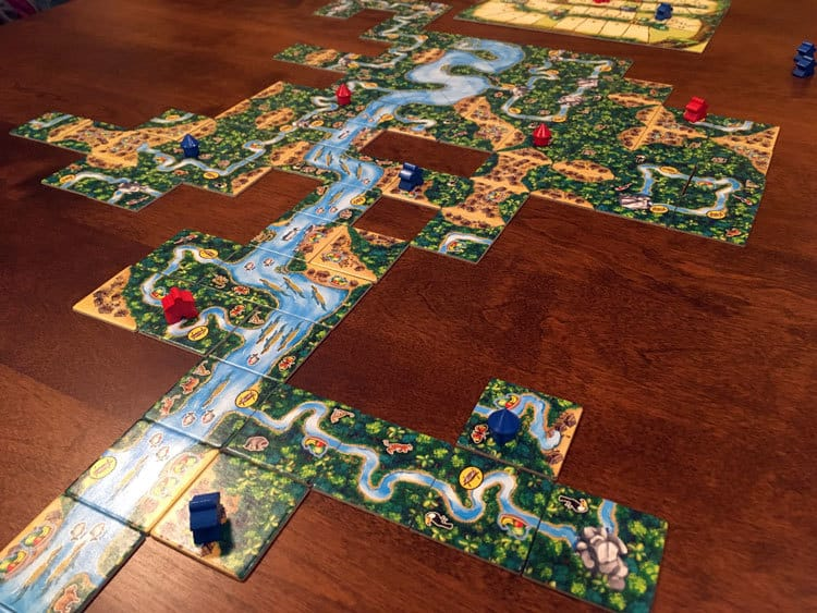 Carcassonne: Amazonas Game Experience