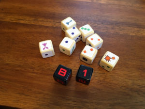 Cosmic Run Dice