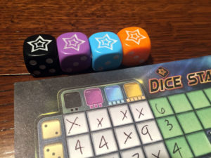 Dice Stars Dice Colors