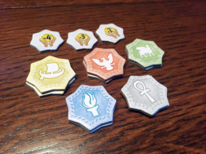 7 Wonders Duel Pantheon Tokens