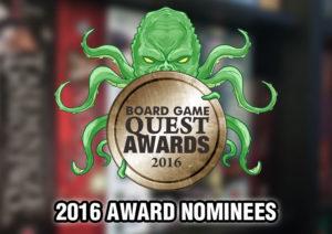 2016 Board Game Awards