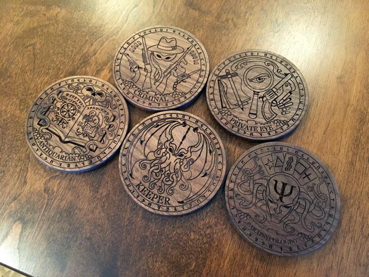 Cthulhu Coasters