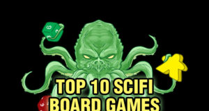 Top 10 SciFi Board Games