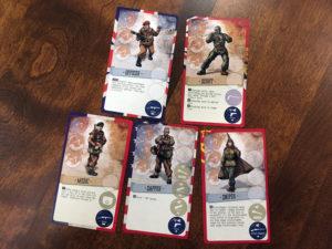 V-Commandos Roles