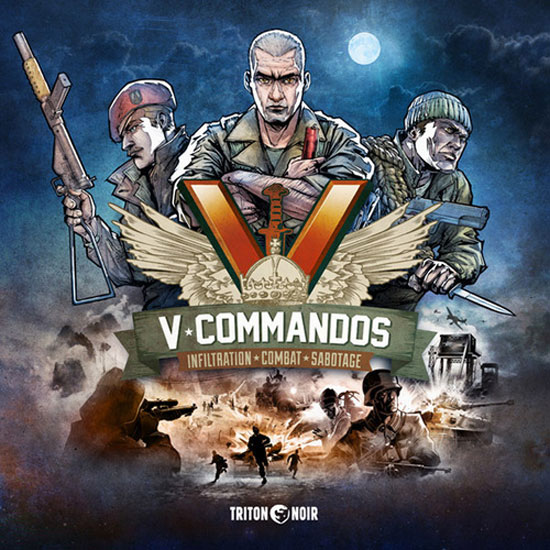 V-Commandos Review | Board Game Quest image