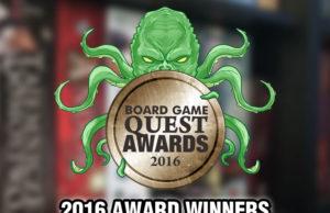 2016 Board Game Award Winners